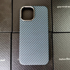 Image 3 - Blue Matte Ultra Light 100% Real Carbon Fiber Case Cover For iPhone12 Mini Case For iPhone 12 Pro Max Lens Protection