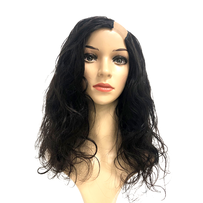 Body Wave U Part Human Hair Wigs Glueless Wig 180% Density Addbeauty Hair Wigs For Women Brazilian Remy Human Hair Natural Black