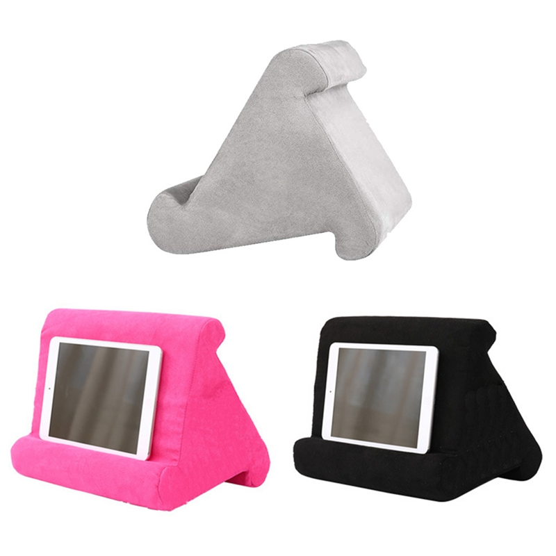 Multi-Angle Soft Pillow Pad Tablet Phone Bracket Universal Lap Stand For IPad Tablet Magazine Holder Pillow Mobile Phone Tablet