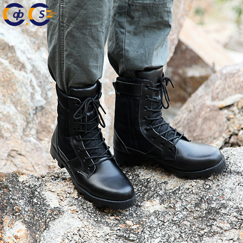CQB. Swat18 Years Spring New Style Outdoor Men Combat Training Protection Fighting Combat Boots