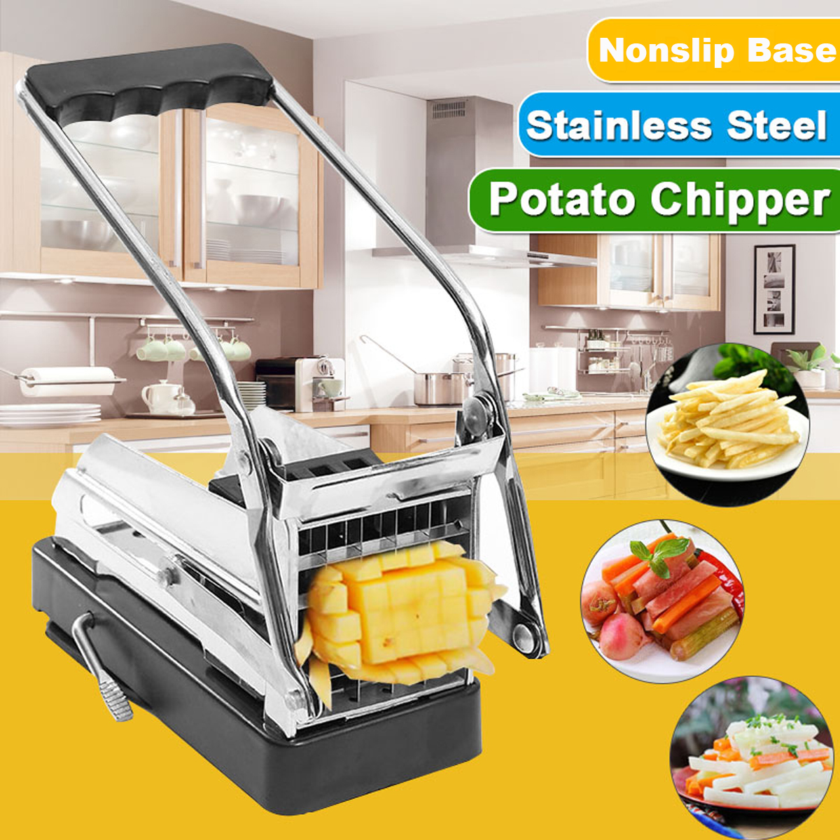 High Quality Stainless Steel French Fries Cutter