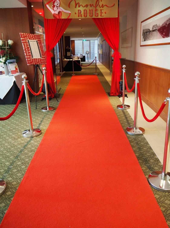 tapis et tapis de couloir pour mariage longueur rouge 10m 20m 50m decoration d evenement pour mariage a l interieur et en exterieur pour la