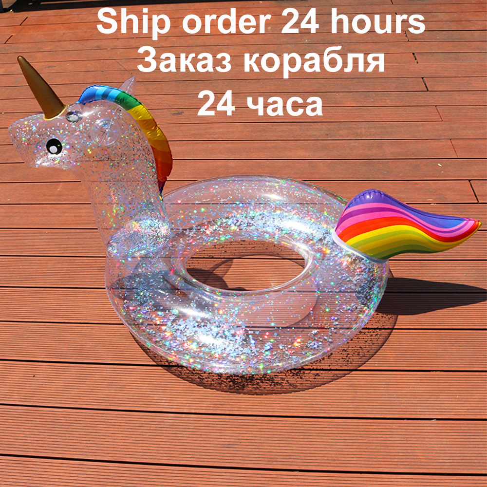 Rooxin 2020 Unicorn Flamingo Inflatable Swimming Circle Pool Float Baby Swimming Ring Water Seat Summer Party Pool Toys For Kids