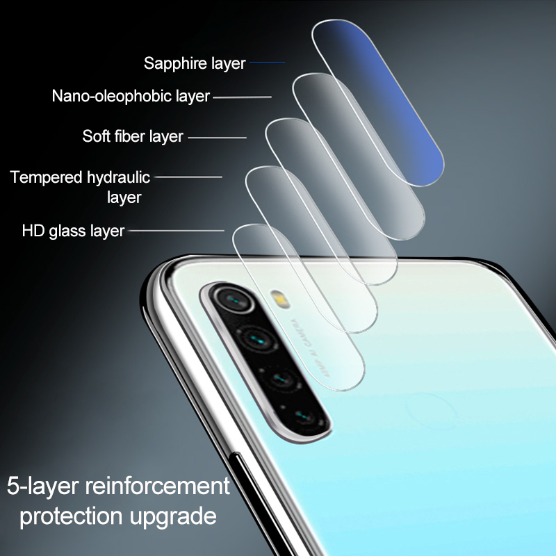 4-in-1 Camera Tempered Glass For Xiaomi Redmi Note 9s Note 9 Pro Screen Protector Protective Glass For Redmi Note 9S 9 S Glass 5
