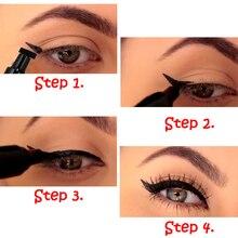 Двойная подводка для глаз треугольное уплотнение 2 в 1 Водостойкая Подводка для глаз карандаш для бровей, используется для стойкий макияж, для бровей Косметика