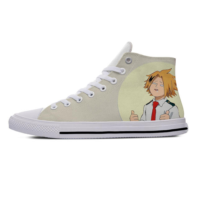 DENKI KAMINARI THEMED HIGH TOP SHOES (5 VARIAN)