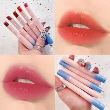 Натуральная матовая губная помада 10 цветов ручка глазурованная