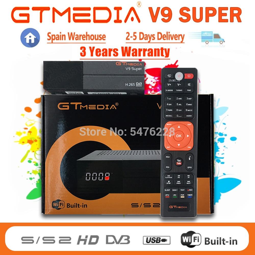 Горячая Распродажа Gtmedia V9 супер декодер новый обновленный Gtmedia V8X поддержка DVB-S2 H.256 Wifi GTmedia V8 Nova опционально без приложения