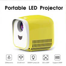 Mini Projector 1000Lumens Portable Projector Children Educat