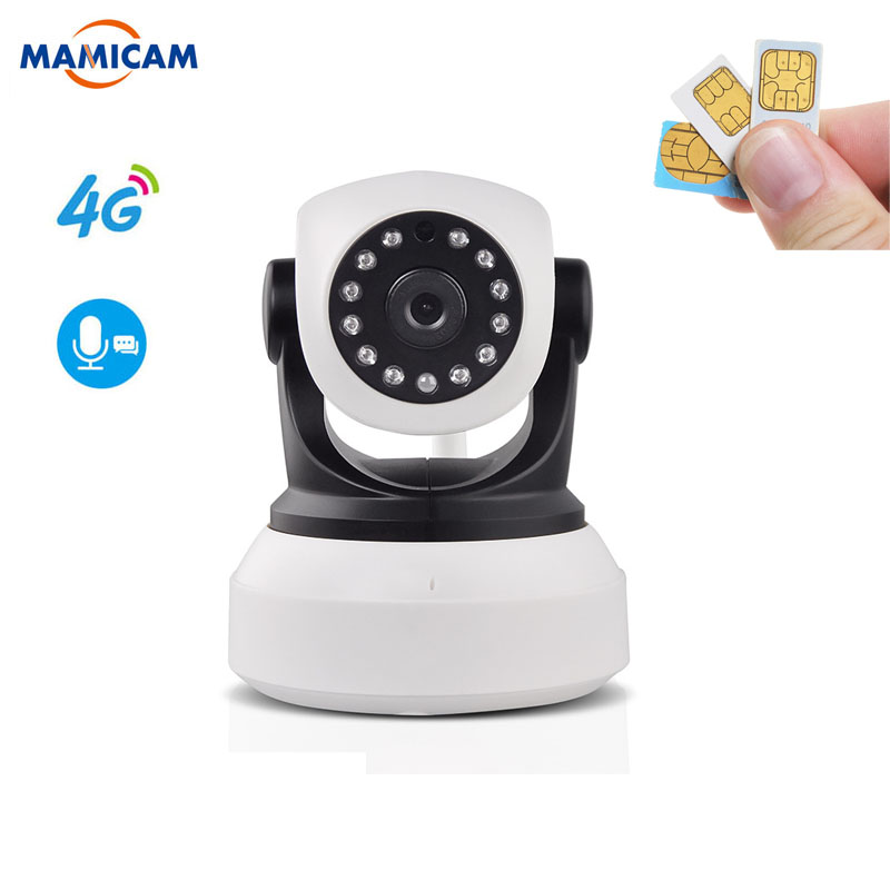1080P 960P HD <font><b>3G</b></font> 4G <font><b>SIM</b></font> Karte IP Kamera Wireless Cam PTZ Pan Tilt Video Kamera GSM P2P Netzwerk Wireless Wifi Home Security Motion image