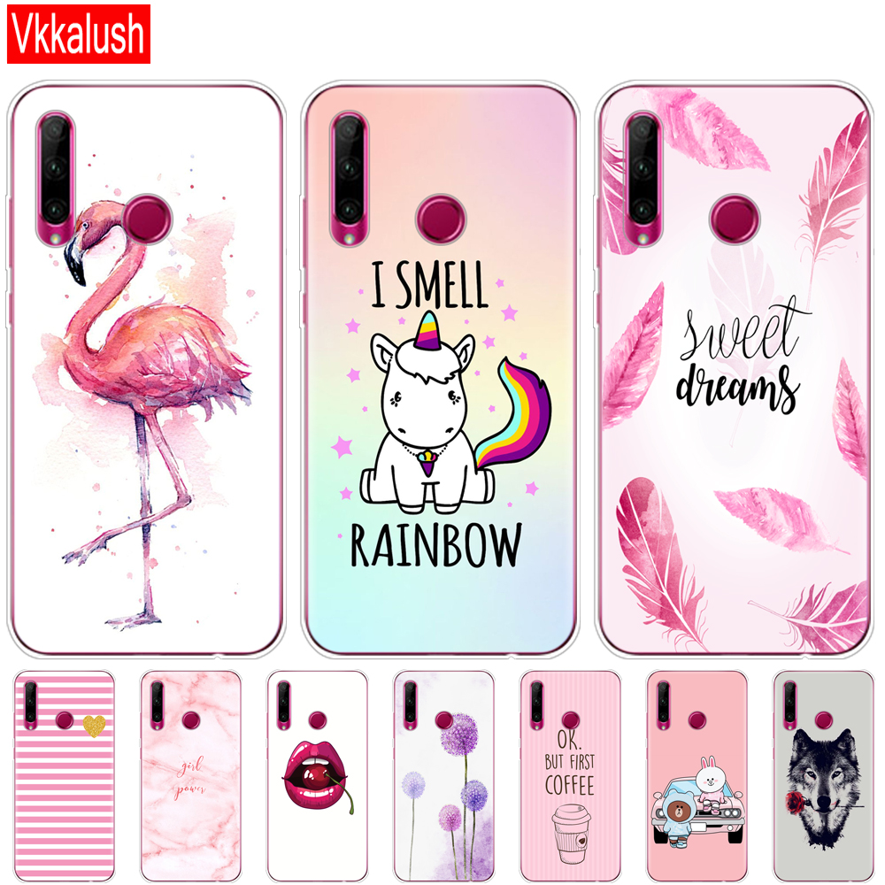 Honor 10i Case Honor 10i HRY-LX1T Case Cute Silicon Tpu Back Cover Phone Case For Huawei Honor 10i Honor10i 10 I 6.21 Inch