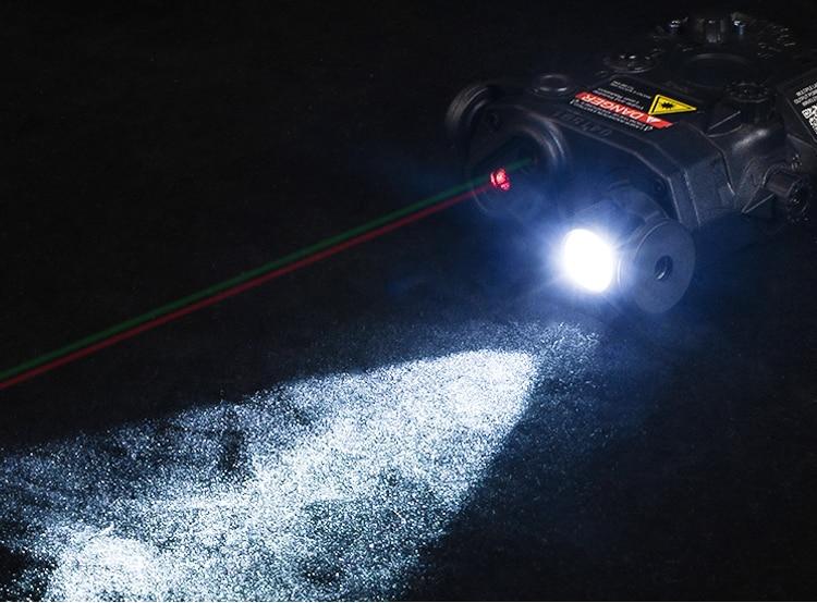 Airsoft la peq15 red dot laser tático