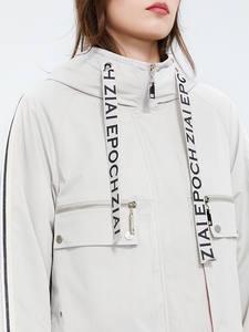 Astrid 2020 новый весенний модный короткий Тренч с капюшоном Высококачественная женская верхняя одежда трендовая свободная городская куртка то...