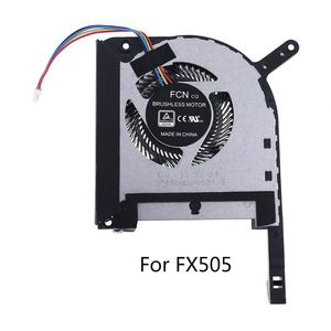 CPU GPU Cooling Fan Radiator Replacement for FX505 Laptop Notebook Accessories Efficient Heat Dissipation Low Noise X6HA