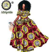 2020 в африканском стиле длинное платье для женщин с открытыми