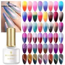 BORN PRETTY – vernis à ongles UV, Gel thermique à couleurs changeantes, à tremper, pailleté, pailleté, pour Nail Art, 6ml