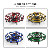 Intelligent UFO Toy Gesture Sensor Induction RC Aircraft 4 Axis Flying Toy Drone