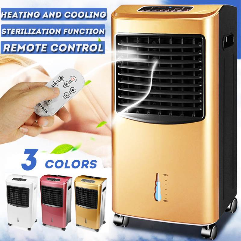 70W Air Conditioner Conditioning Humidifier Purifier Natural Wind Air Cooling Cooler Fan Household Timing Heating Cooling System