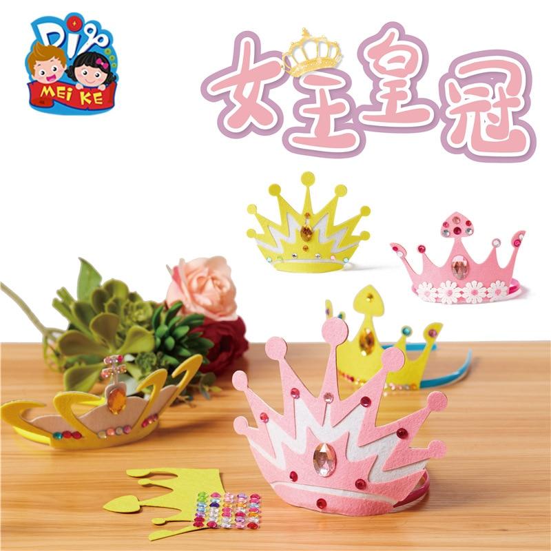 DIY Arts Crafts Toys For Children Kindergarten Handmade Learning Education Toys Montessori Teaching Aids Kids Toy