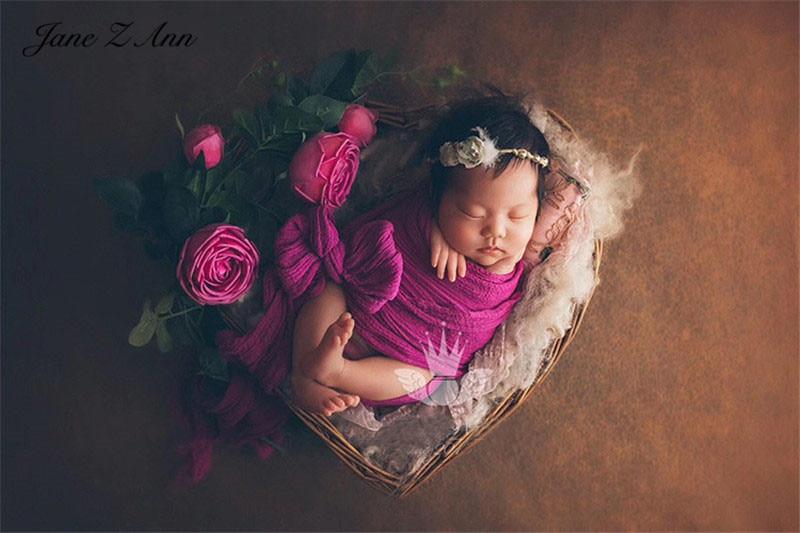 Jane Z Ann Aixinteng panier conteneur cadre en forme de coeur nouveau-né bébé photographie accessoires 40x40x15cm