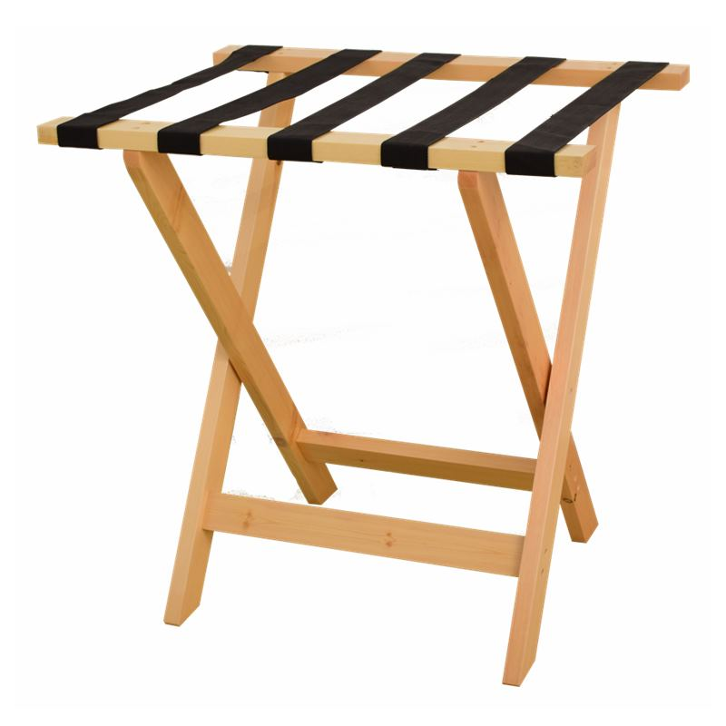 Solid Wood Luggage Rack Hotel Floor Folding Racks Home Bedroom Put Sleep Clothes Simple Shelves