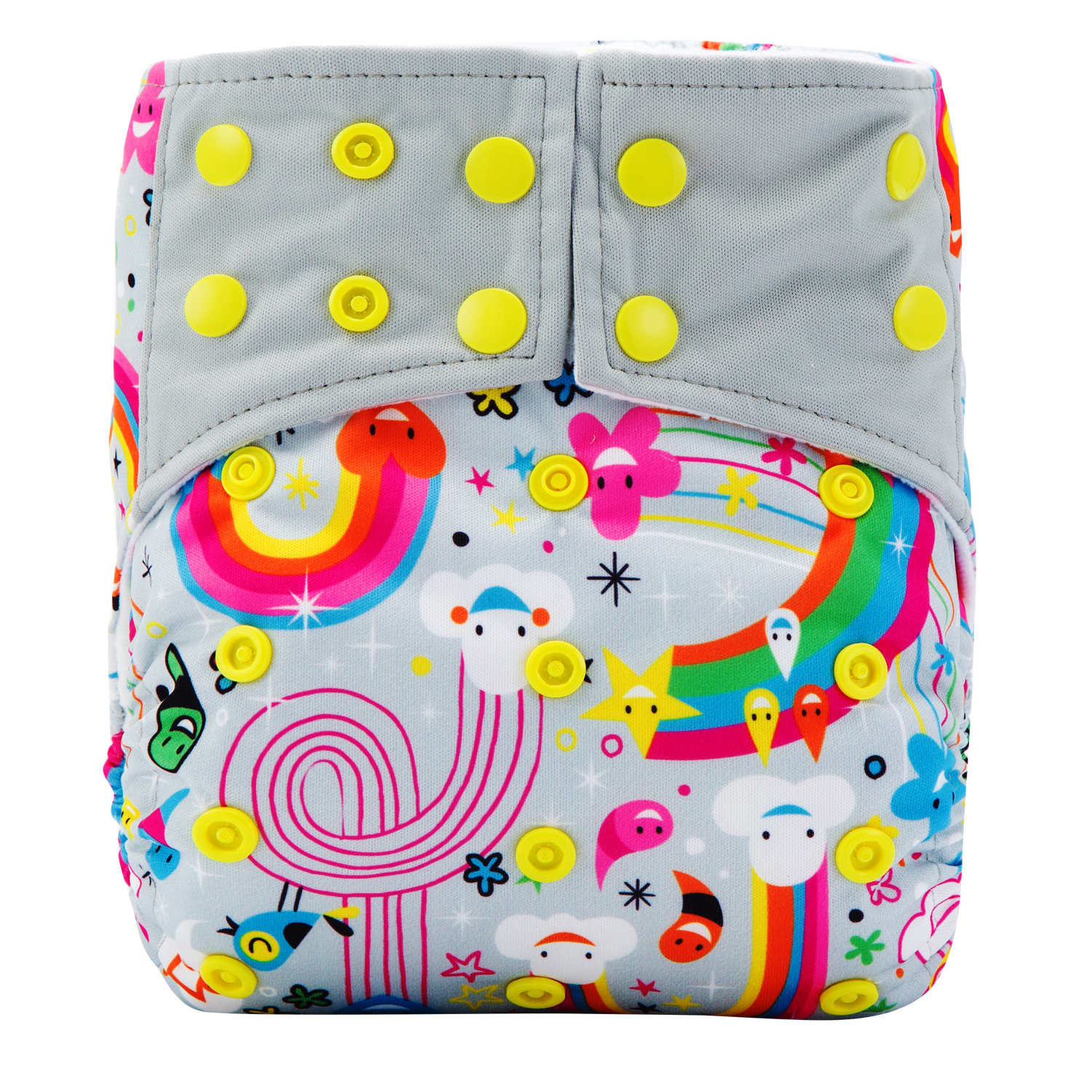 Aio Cloth Diapers All In One Cloth Diaper Eco Friendly Pocket Nappies With 3 Layer Microfiber Insert APS19