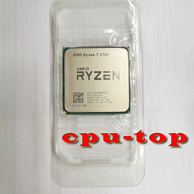 AMD Ryzen 7 2700 、 3.2 GHz 8 コア Sinteen スレッド 16 メートル 65 ワットの CPU プロセッサ YD2700BBM88AF ソケット AM4
