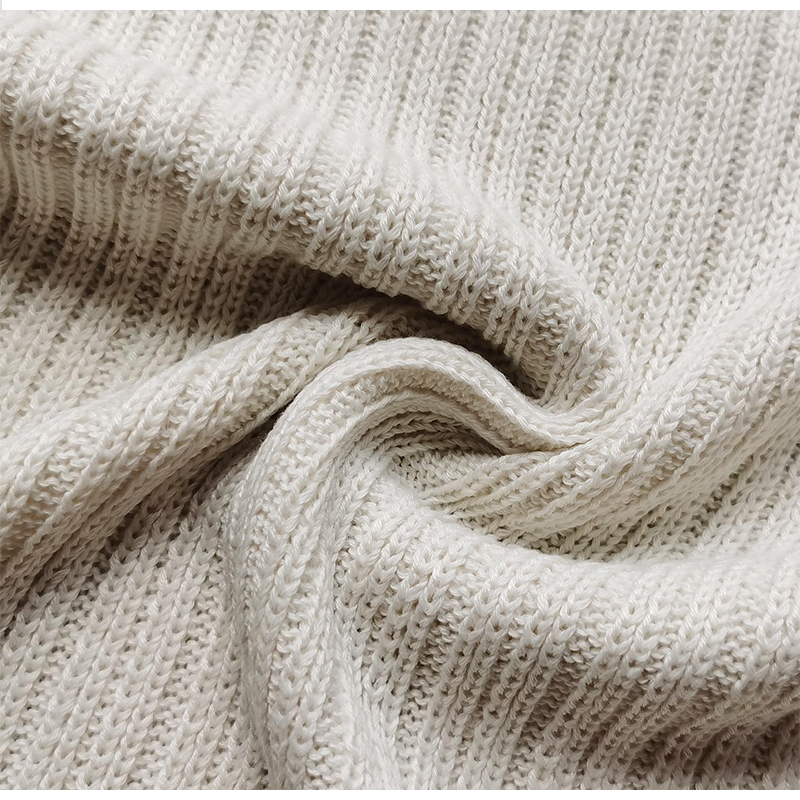 Gilet tricoté avec gants pour femmes