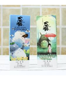 Stationery Bookmark-Set Paper Page-Holder Memo-Card School-Supplies Totoro Office Anime