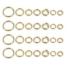 New Gold Stainless Steel Open Jump Rings 3/4/5/6/7/8/10mm Split Rings Connectors for Diy Jewelry Findings Making Wholesale