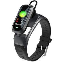 Pulsera inteligente B9 para llamadas, auriculares con Bluetooth, pulsera con supervisión de frecuencia cardiaca, rastreador de ejercicios, auriculares con banda inteligente para hablar para IOS y Android