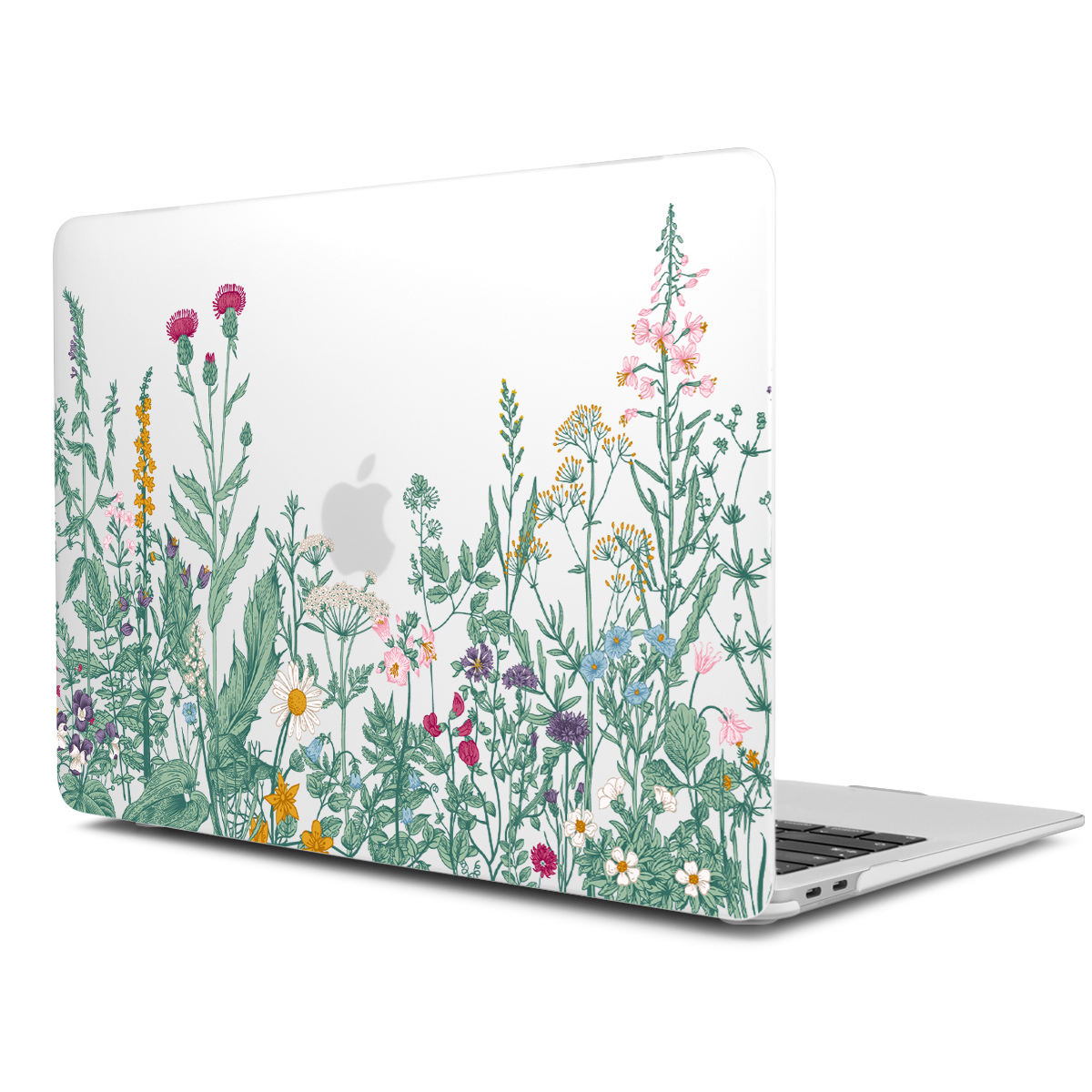 Marble Flower Pattern Case for MacBook 81