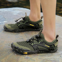 Мужские и женские босоножки для воды дышащие резиновые сандалии