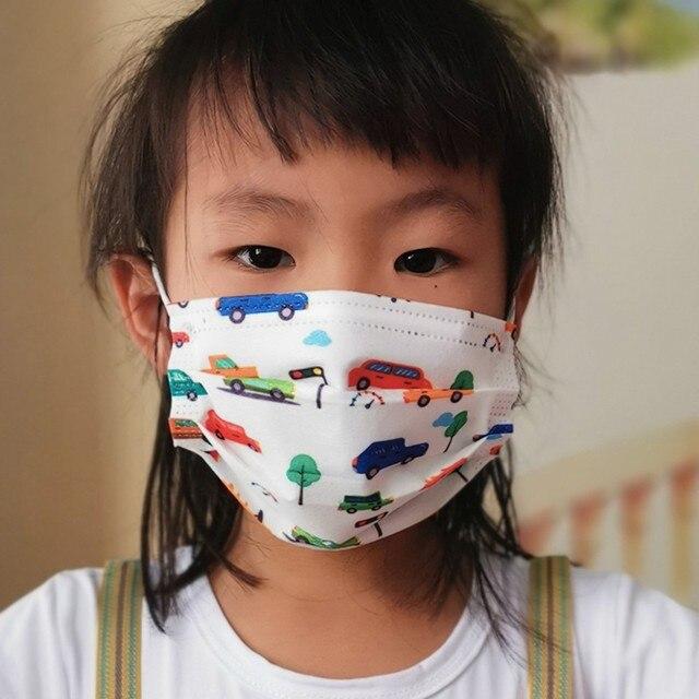 50pc children kids disposable face