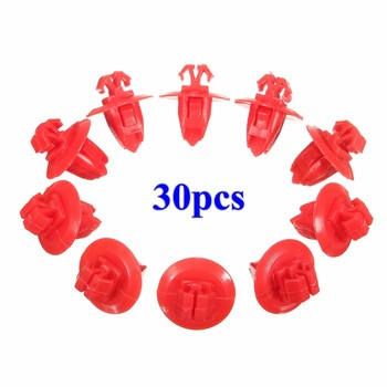30pcs/10pcs Car Front Door Trim Body Moulding Repair Kit Fender Wheel Flare Moulding Clip for Toyota Tacoma 4Runner Tundra image