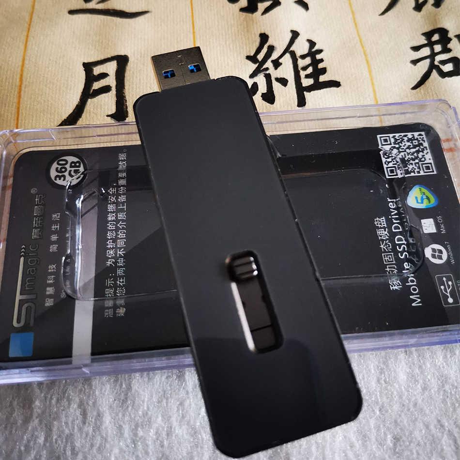 Stmagic-disque Flash USB SSD SPT31, capacité de 3.1 go, 128 go, 256 go, 512 go, 1 to, clé mémoire