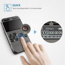 Ses aktif dijital ses kaydedici Mp3 oyuncu 32GB müzik çalar kartı tek tuşla kayıt gürültü azaltma kulaklık V35