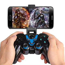 STK-7024X Gamepad Wireless Controller Bluetooth 3 In 1 Joystick Holder  Smartphone Bracket Handle for Android Windows IOS wireless bluetooth handle gamepad stretchable joystick controller for smartphone android ios for mobile version lol cf