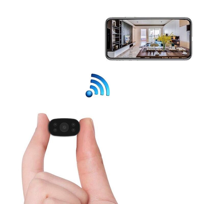 Mini cámara de seguridad del hogar WiFi Cámara Yilutong HD inalámbrico remoto ver Super Mini cámaras Nanny Cam pequeña grabadora IP cuerpo|Mini videocámaras|   - AliExpress