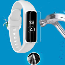 2pcs TPU Soft Full Coverage Protective Film Guard For Samsung Galaxy Fit R370/ Fit-e R375 Smart Wristband Screen Protector Cover 3pcs protective flim screen protector ultra thin clear lcd guard shield cover skin for samsung galaxy fit fit e bracelet tools