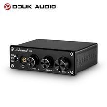 Douk Audio Q3 HiFi USB DAC Mini Digital to Analog Converter Coax/Opt Headphone Amp Treble Bass