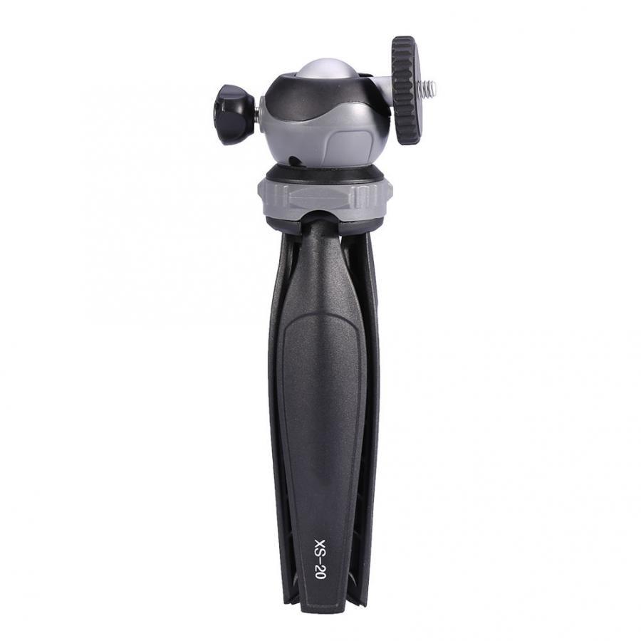 Mini Tabletop Tripod with Detachable 360/° Rotation Ball Head for Digital Camera Phone