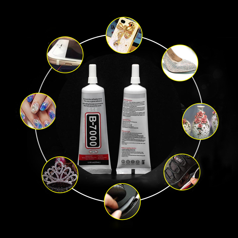 3ml Liquid B-7000 Multipurpose Glue Resin Adhesive For Crystals Diy Crafts Glass Phone Touch Screen Super Glue Strong B7000