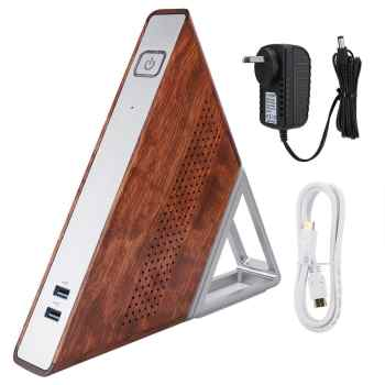 Acute Angle AA - B4 Mini PC Triangle Computer Host for Windows 10 for Intel N3450 Quad-core 1.1GHz 8GB+192GB 100-240V US/EU Plug