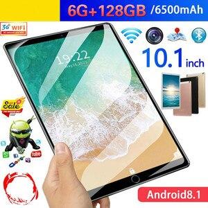 2020 New 10.1 Inch 4GLTE Tablet PC 6G RAM128G ROM MTK6582 Octa-core Phone PC 1920X1200 IPS 4G WCDMA/2SIM GPS Bluetooth WIFI