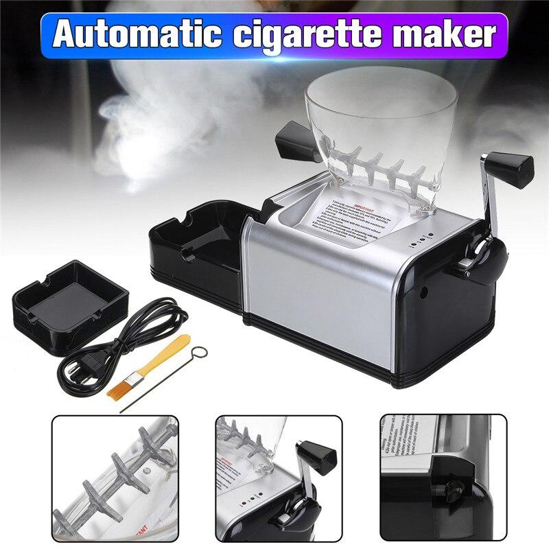 Roll Maschine für Zigarette Metall Elektrische Automatische Tabak Roller Maker Elektronische Zigarette Tablett Rohr Rauchen Zubehör-in Zigarette Zubehör aus Heim und Garten bei  Gruppe 1