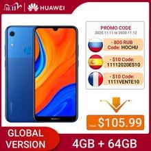 HUAWEI Y6s 64GB Version mondiale smartphone 6.09 pouces NFC téléphone portable 3020mAh batterie visage déverrouillage ID 13MP caméra