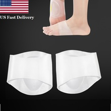 US 2PCS Foot Insoles Arch Support Pad Plantar Fasciitis Heel