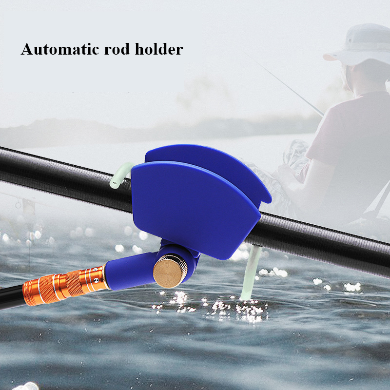 Automatic Fishing Rod Bracket Pesca Tackle 180 Degree Adjustable Rod Holder Rotatable With Screws For Boat