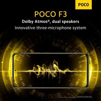 Глобальная версия POCO F3 5G смартфон 8 Гб 256 Snapdragon 870 Octa Core 5